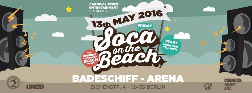 Soca on the Beach 2016