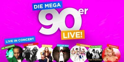 Die Mega 90er Live!