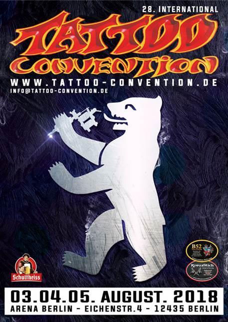 Bildergebnis für tattoo convention berlin 2018