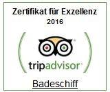 Zertifikat Trip Advisor